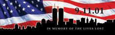 Rear Window Canvas  America Remembers 9-11