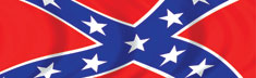 Rear Window Confederate Waving Rebel Flag