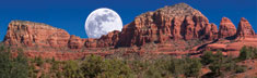 Sedona Moonrise
