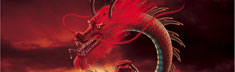 Rear Window Canvas  Red Dragon